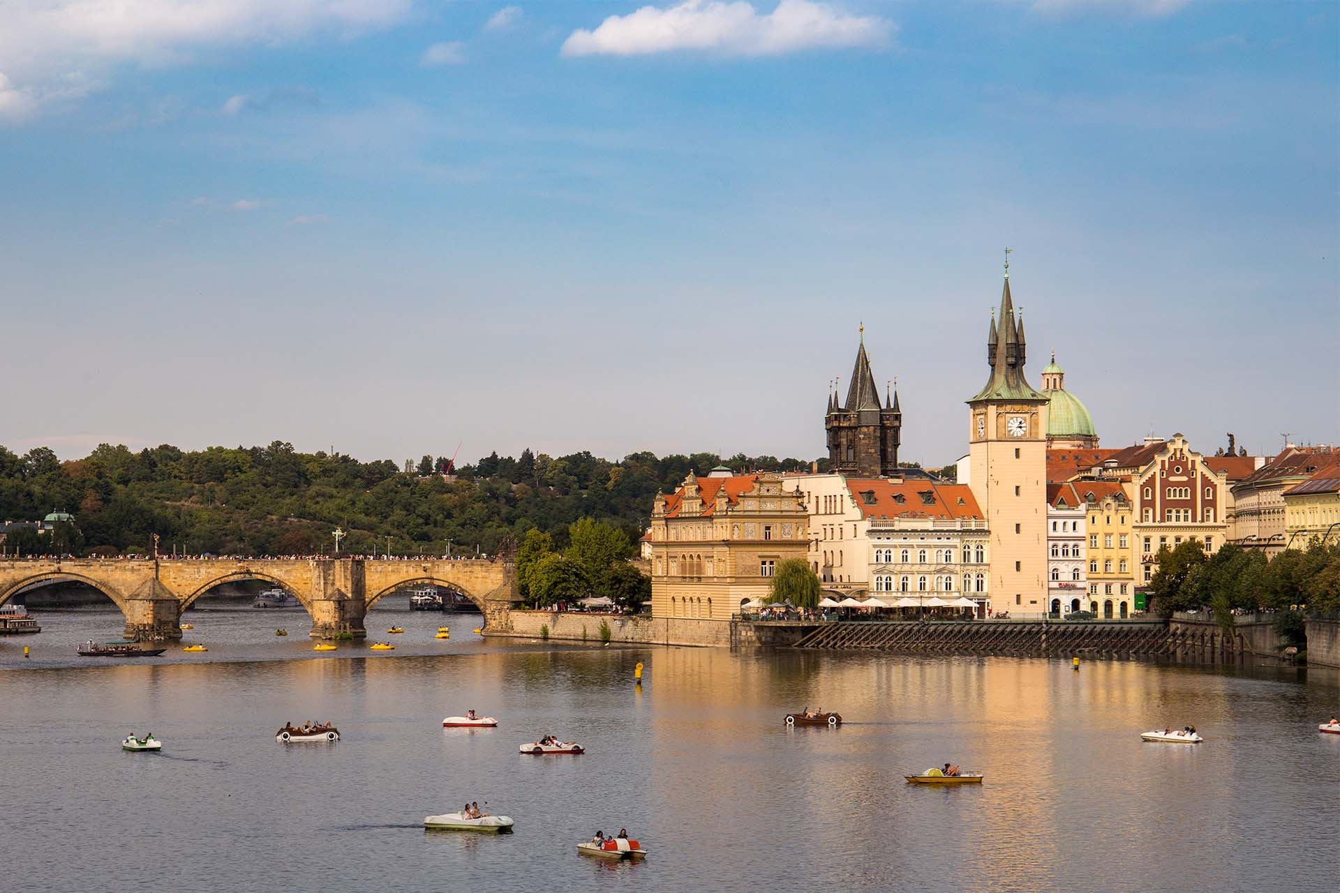Photo of the Charles Bridge